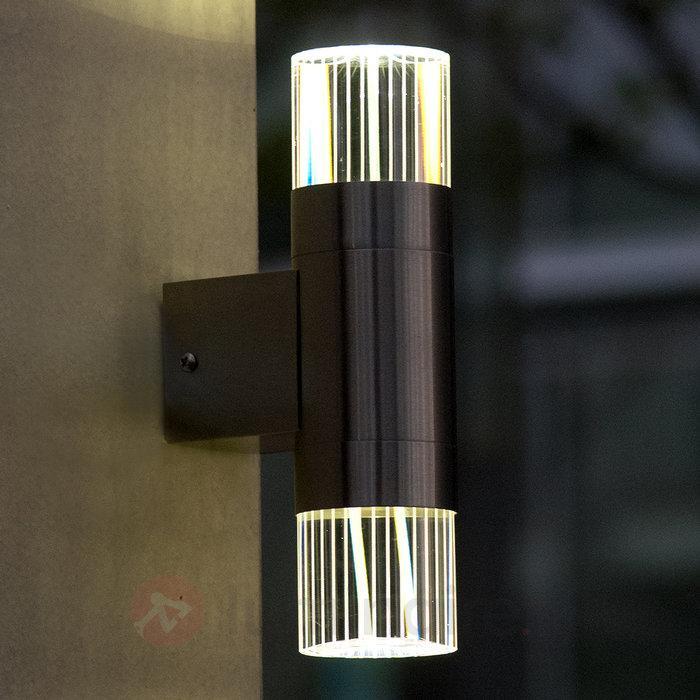Durban - une applique LED d'extérieur en inox - Appliques d'extérieur LED