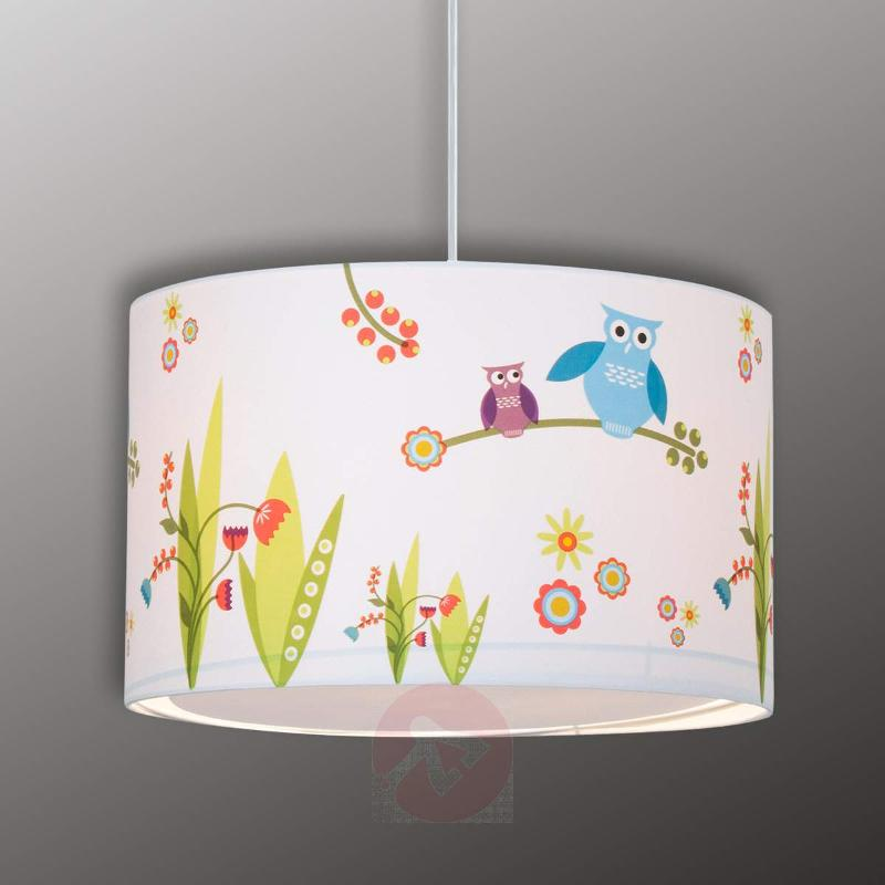 Birds cheerful children's hanging light - Pendant Lighting