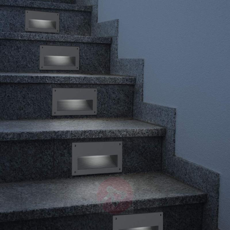 Zimba - angular recessed wall light - Brick Lights
