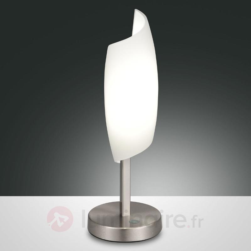 Lampe à poser LED Roxie verre soufflé à la bouche - Lampes à poser LED