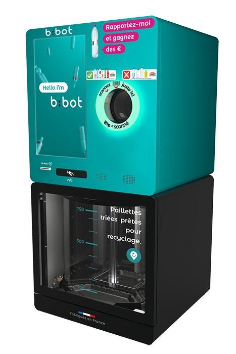 b : bot : BROYEUR POUR BOUTEILLES PET  - Type de déchets