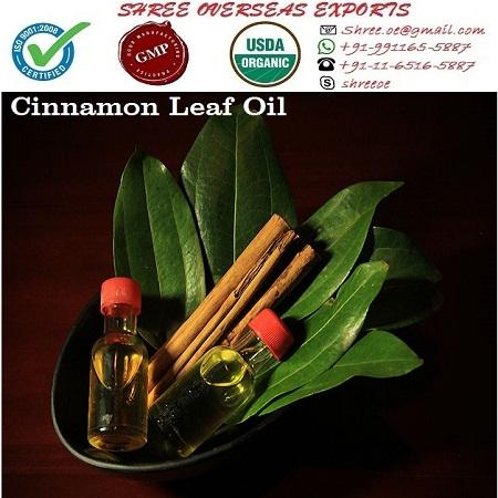 Organic Cinnamon Leaf Oil - USDA Organic