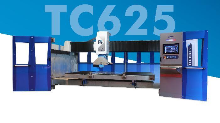 TC625 - Débiteuse Thibaut TC625 5 axes