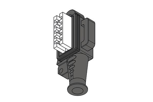 Connettore per attuatori compatti Bitron-Elbi -
