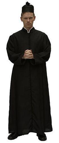 Costume Curé taille 50 à 56 - null
