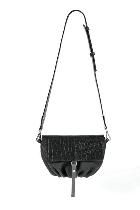 Soft Bag S Black - Torba skórzana