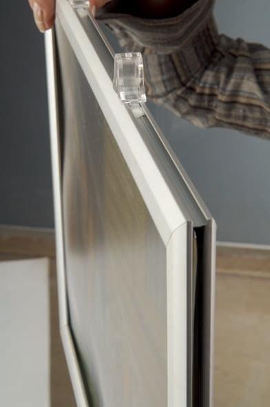 Slide-In Frames - Cadre double face à ouverture latérale - portrait