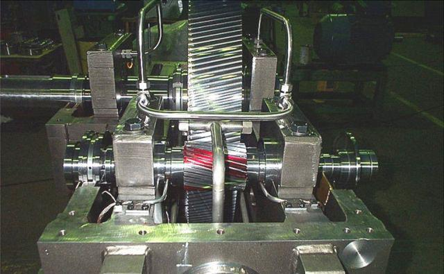 Turbo-multiplicateurs - Turbo-multiplicateur en cours de montage dans nos ateliers