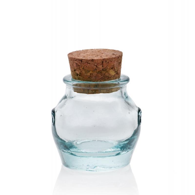 24 Mini bocaux 39 ml Jarres avec bouchon en liège
