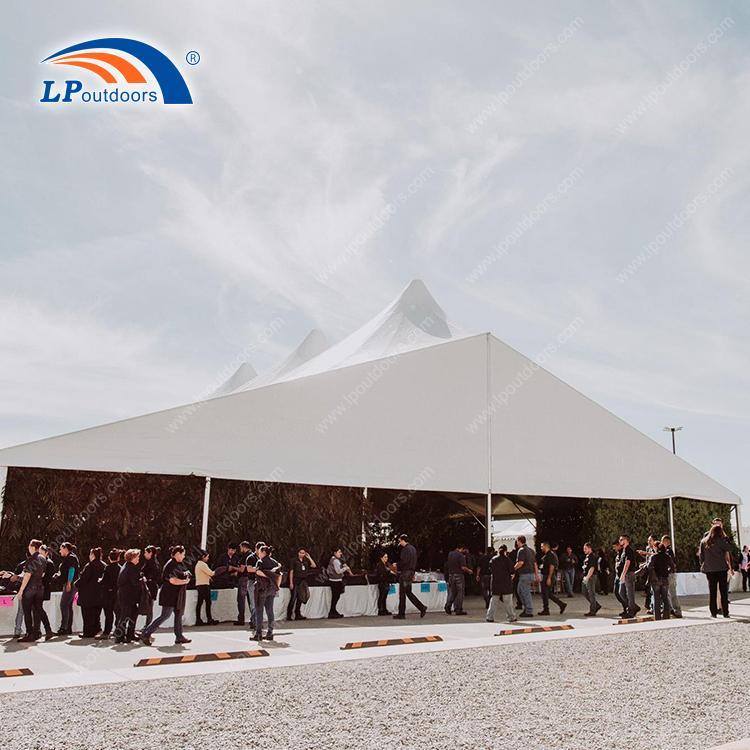 Высокопиковая палатка для вечеринок на открытом воздухе - 25-метровая палатка для вечеринок от LP OUTDOORS