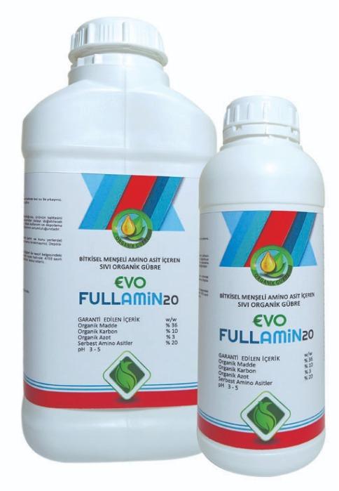 Evo FULLAMİN20 - Bitkisel Menşeli Aminoasit içeren Sıvı Organik Gübre