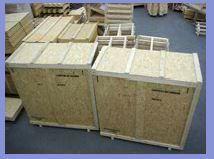 Caisses maritimes ou aériennes - Caisserie déménagement