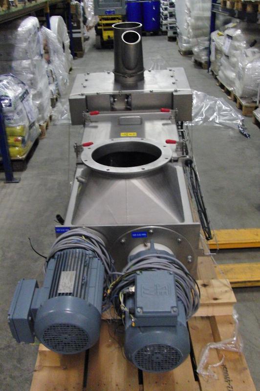 twin feed screw vanBeek - Used Equipment