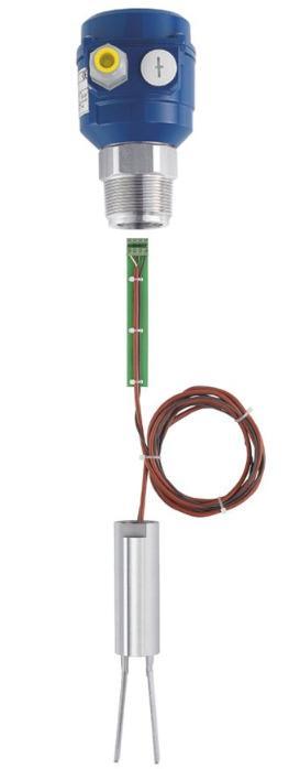 Sensor com garfo vibratório Vibranivo® Série VN 1000/5000 - Detector de Cheio, Demanda ou Vazio - para medição pontual de nível