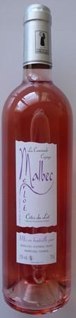 VIN DU PAYS DU LOT MALBEC LA CAMINADE ROSE - Rosé Wine