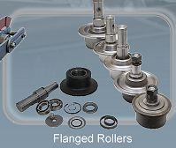 Flanged rolls - Conveyor chains and components