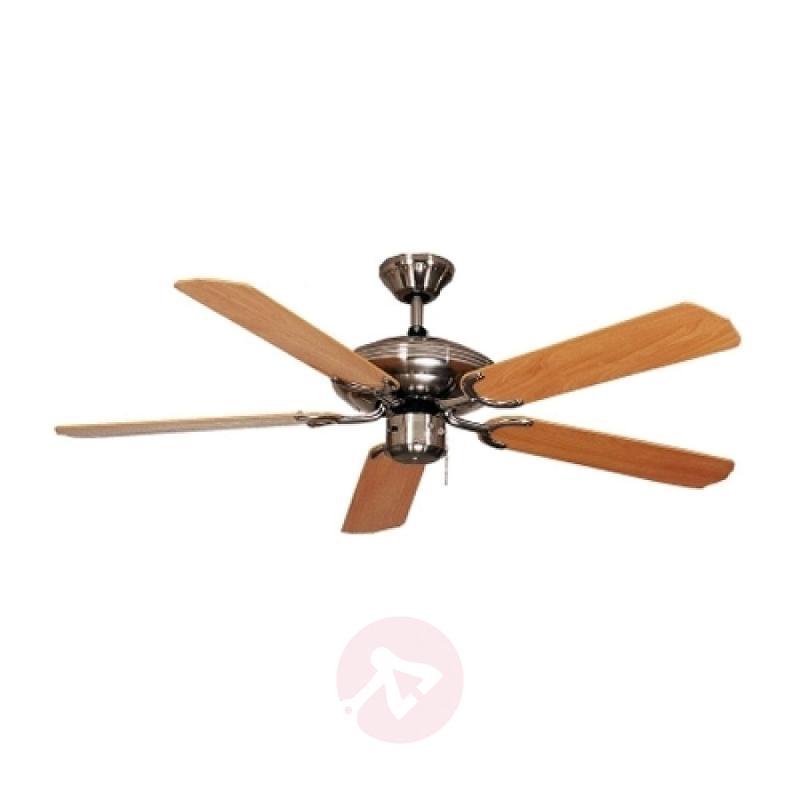 Beech-coloured Steel-Star ceiling fan, 103 cm - fans