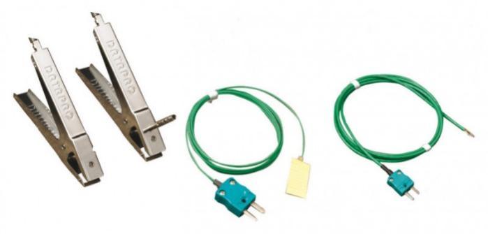 DATAPAQ Oven Tracker XL2 Klemm- und Klebe-Thermoelemte - Thermoelemente für Temperaturprofilsystem für Automotive-Trocknungsöfen