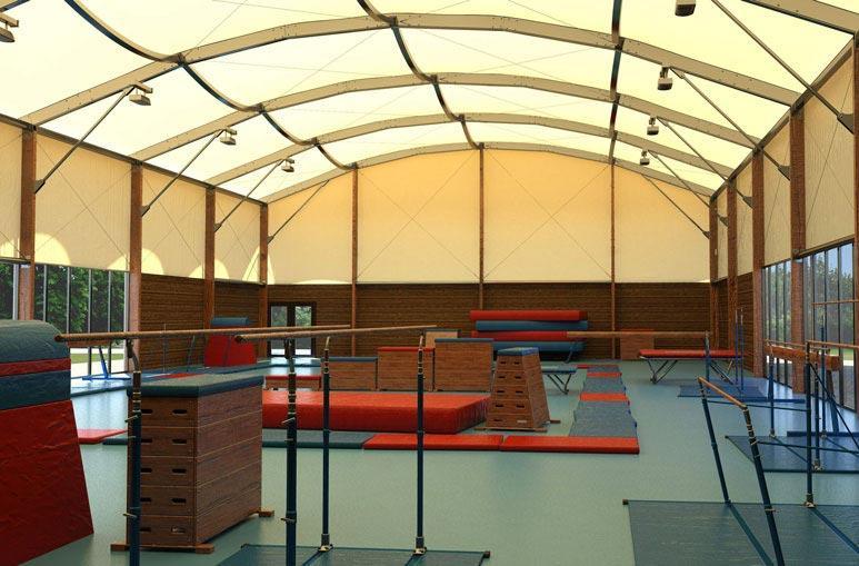 Gymnase - Système de construction - Bâtiments sportifs et Espaces Loisirs
