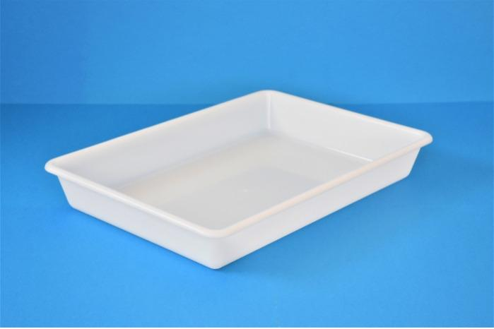 Cajas de plástico encajables - Bandeja de plástico