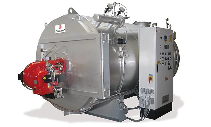 Thermal Oil Heater - The Thermal Oil Heater THZ/ GKV/H