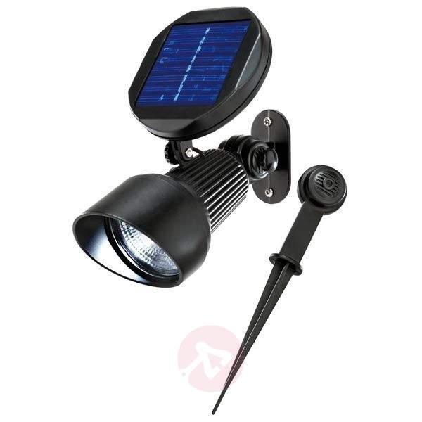 Spotlight Solar wall and ground spot light LED - Outdoor Wall Lights