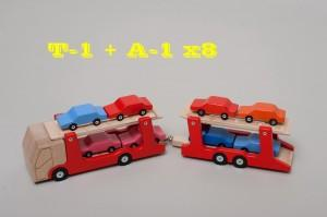 Wooden Car T1 - Wooden Toy