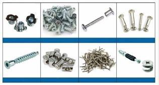 Metallkomponenten - Industrieteile, standardisierte Artikel und kleine Armaturen