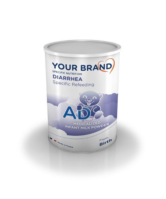 Special infant milk formula - Diarrhea - AD