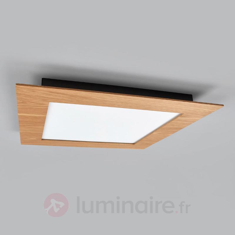 Panneau LED naturel Deno en bois - Plafonniers LED