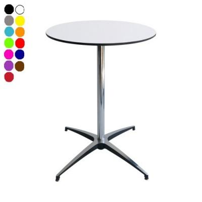 Location de table guéridon rond COMPACT pied - null
