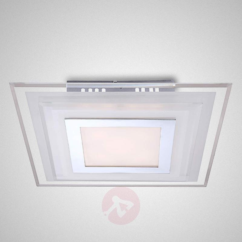 Angular LED ceiling light Amos - 30 cm - Ceiling Lights