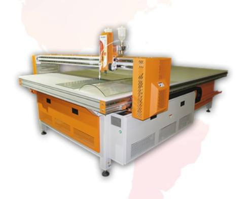 Equipment for creating stained glass - UV LED Flatbed Printers, stained glass CNC machines, machines for cutting glass
