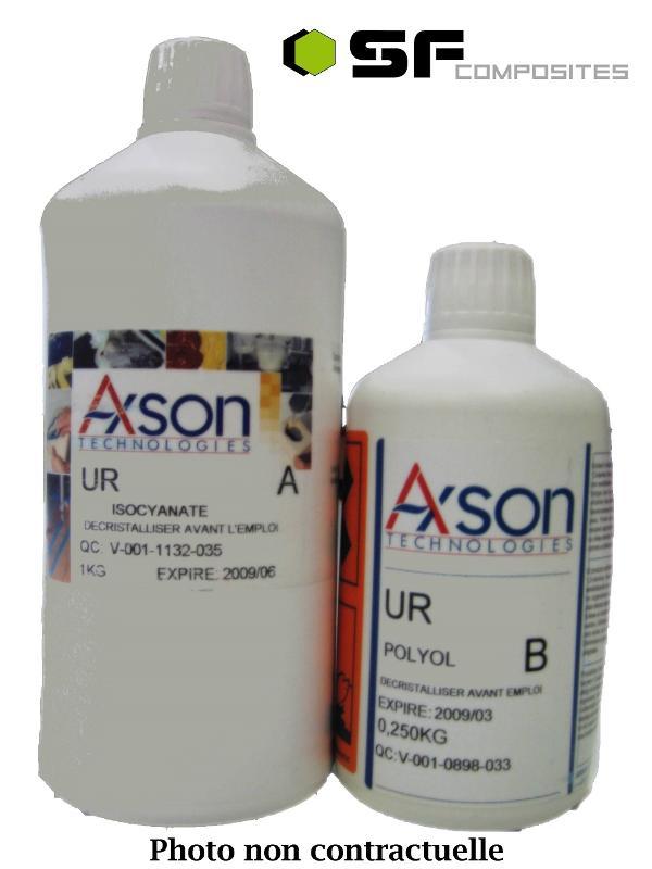 resines polyurethanes Elastomère pu - UR 3440 KIT(1+0.5)kg.-AXSON...
