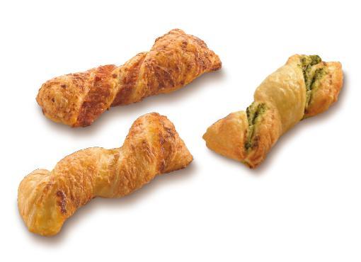 """Mini Twister Trio """"Snack"""" - Mini pastries"""