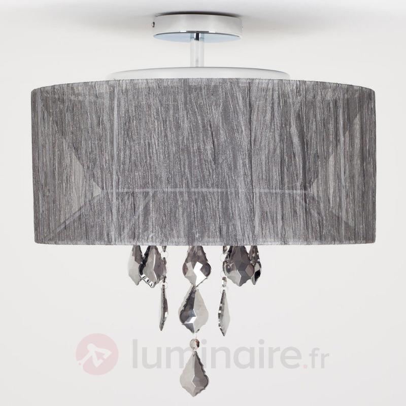 Plafonnier Xochil à 4 lampes - Suspensions en tissu