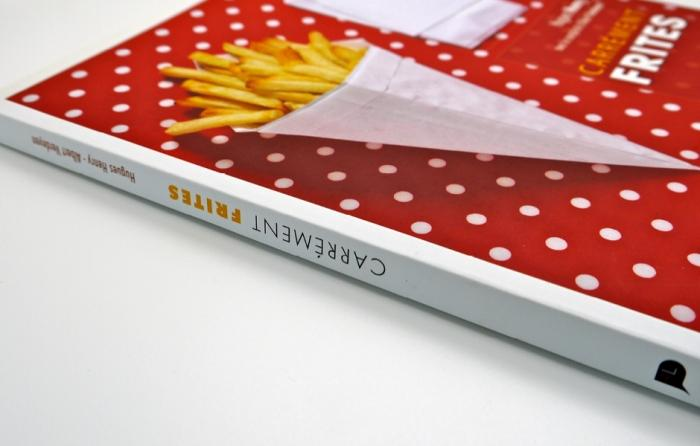 Dos carré-collé - brochure dos carre colle mat brillant