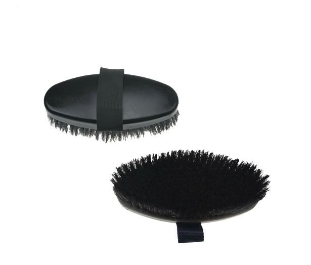 horse body brushes wood back - horse body brush / horse grooming brush/horse plastic dandy brush