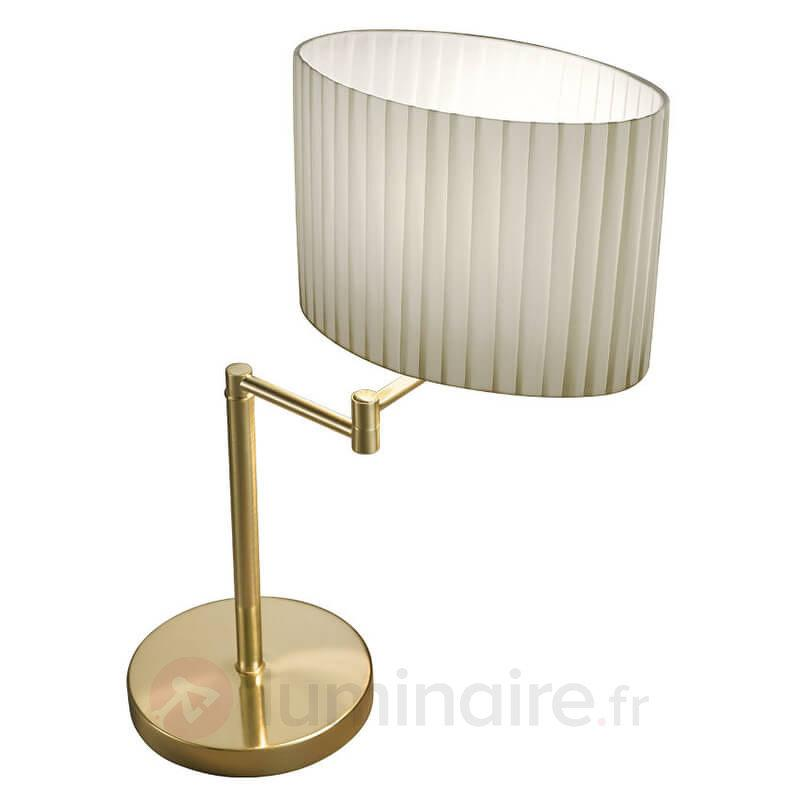 Hilton Sand - lampe à poser articulée - Lampes à poser en tissu