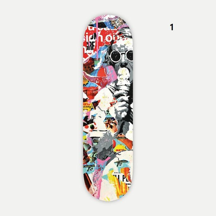 Skateboards decorativos by Alberto Leon - Tablas de skate personalizadas