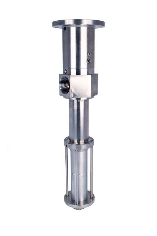 Selbstansaugende Pumpe 3VMP22 - Exzenterschneckenpumpe / 13,5 ml/U