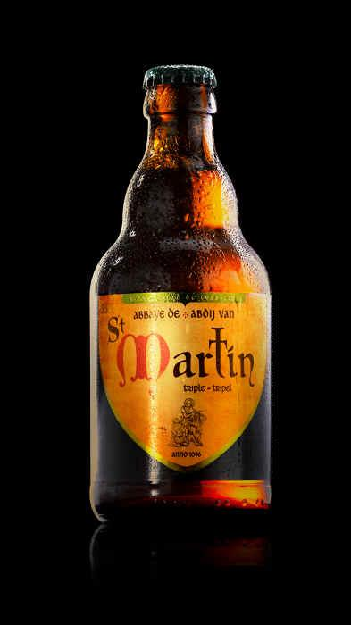 Bière d'abbaye - Abbaye de St Martin Triple
