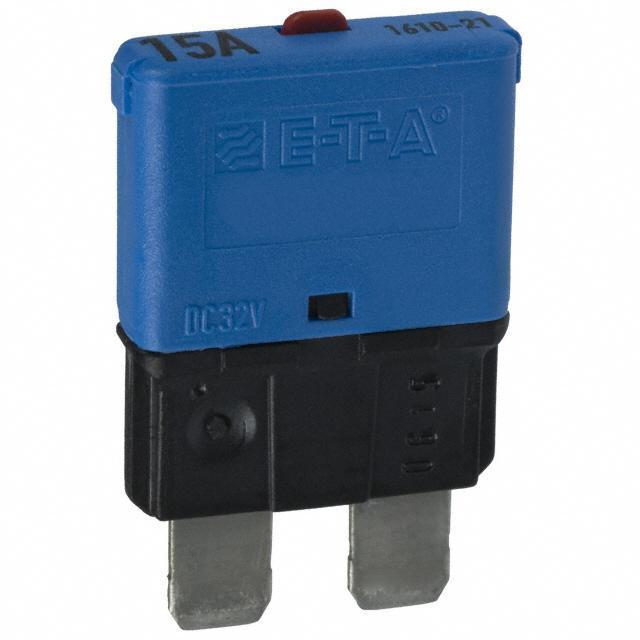 CIR BRKR THRM 15A 32VDC - E-T-A 1610-21-15A