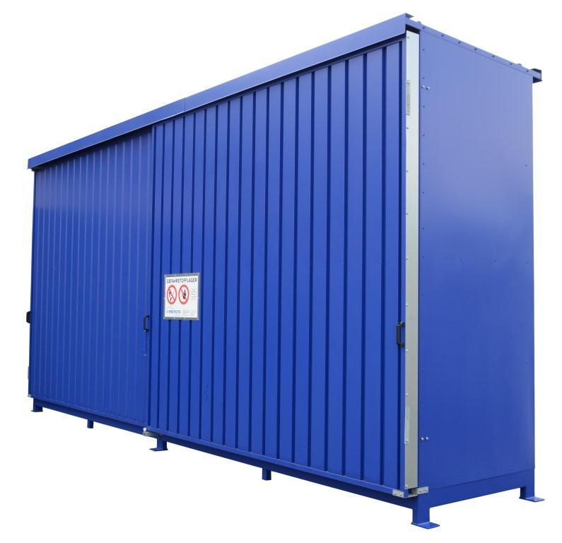 Mit DIBt-Zulassung: Regalcontainer Typ IBC 14-24.2 - null