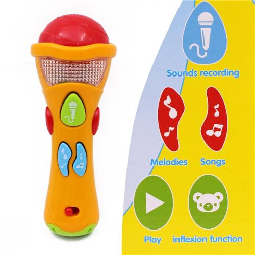 Recording microphone toy for baby - Wishtime Baby Sing