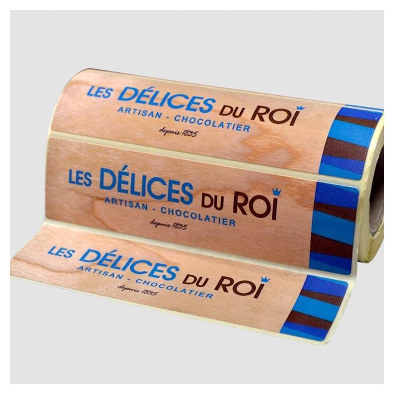 Étiquettes bois véritable - Étiquettes haut de gamme