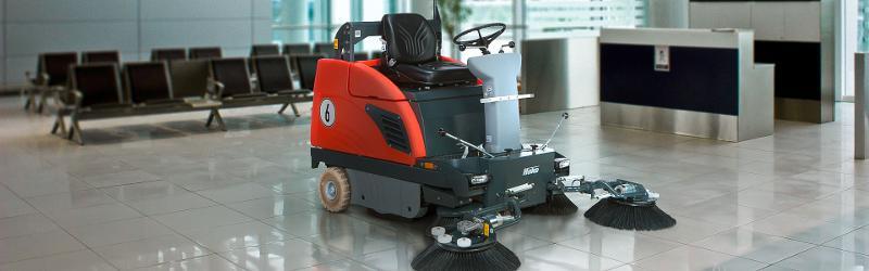 Sweepmaster 980 R/rh - Ride-on vacuum sweeper for medium-sized industrial floors