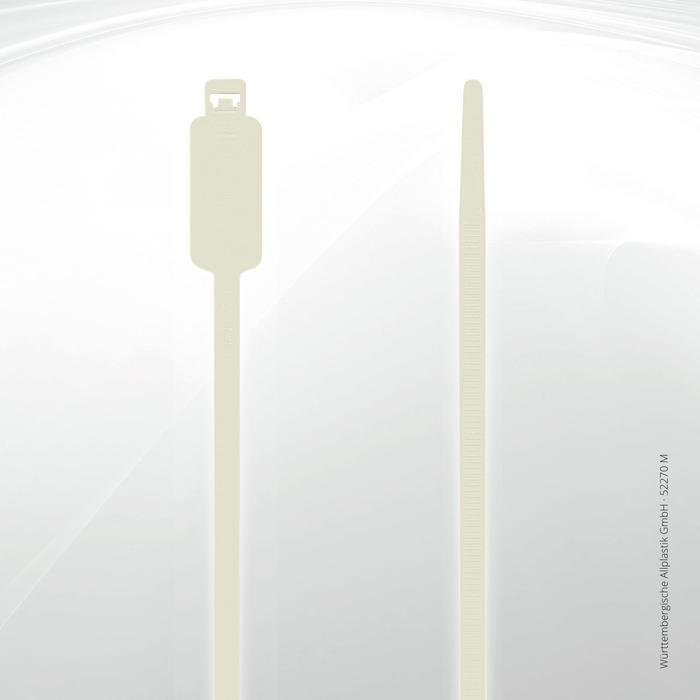 Label identification ties Allplastik Kabelbinder® - 52270-M (natural)