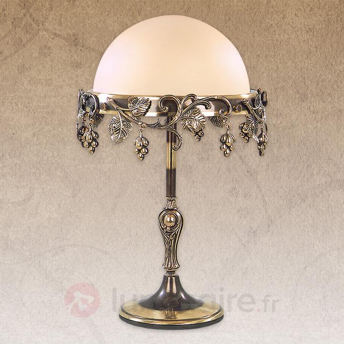 Lampe à poser décorée Natura - Lampes à poser classiques, antiques