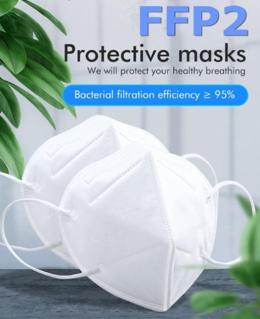 Protective FFP3 FFP2 N95 Face Mask CE EN149 Disposable   - Protective FFP3 FFP2 N95 Face Mask CE EN149 Disposable